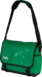 Green shoulder bag WORKSTATION - NBB3667