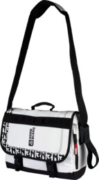 White shoulder bag COURIER - NBB3668