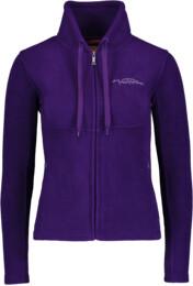 Hanorac din fleece violet pentru femei EVLIN - NBWLF3851