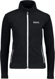 Hanorac din fleece negru pentru femei TYCHO - NBWLF3866