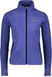 Hanorac din fleece violet pentru femei TYCHO - NBWLF3866
