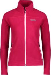 Hanorac din fleece roz pentru femei TYCHO - NBWLF3866
