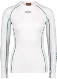 Tricou termo alb de iarnă cu mânecă lungă pentru femei CAILETA - NBBLD3871