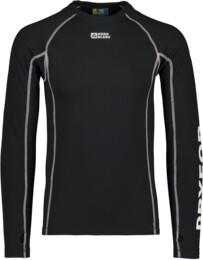 Men's black winter baselayer top ORB - NBBMD3874