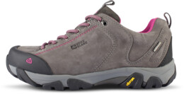 Šedé dámské kožené outdoorové boty DIVELIGHT - NBLC39A
