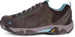 Šedé dámské kožené outdoorové boty DIVELIGHT - NBLC39B