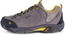 Women's grey outdoor leather shoes DIVELIGHT - NBLC39B