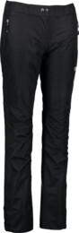 Women's black fullzip outdoor pants MAHALA - NBSLP4225