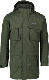 Khaki pánsky zimný kabát URBAN - NBWJM4506B