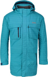 Modrý pánsky zimný kabát URBAN - NBWJM4506B