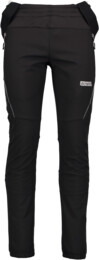 Černé pánské zateplené multi-sport softshell kalhoty ICONIC - NBWPM4541
