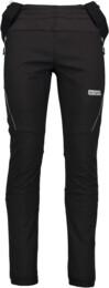 Men's black softshell multi-sport pants with fleece ICONIC - NBWPM4541