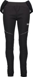 Čierne dámske zateplené multi-sport softshell nohavice EFFECT - NBWPL4542