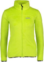 Hanorac din fleece verde pentru femei COMFORT - NBWSL4549