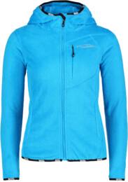 Women's blue fleece jacket SECRET - NBWSL4550