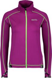 Women's purple power fleece jacket SYMPHONY - NBWFL4565
