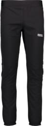 Men's black softshell multi-sport pants with fleece INTENSIVE - NBWPM4567