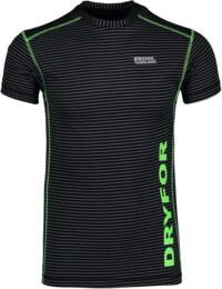 Čierne pánske celoročné termo tričko HYBRID - NBWFM4637