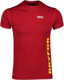 Červené pánské celoroční termo triko HYBRID - NBWFM4637