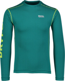 Zelené pánske celoročné termo tričko REALLY - NBWFM4638