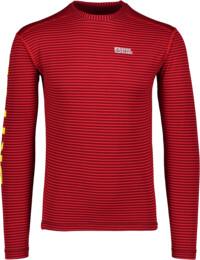 Červené pánske celoročné termo tričko REALLY - NBWFM4638