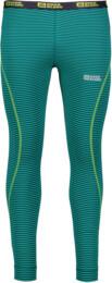 Zelené pánské celoroční termo kalhoty EXTREM - NBWFM4640