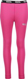 Ružové dámske celoročné termo nohavice  FIT - NBWFL4644