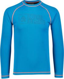 Modré pánské zimní termo triko REVOLUTION - NBWFM4645