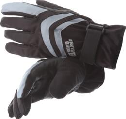 Černé softshellové rukavice SPIRIT - NBWG4716