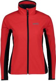Červená dámska ľahká softshellová bunda TRUST - NBSSL4998