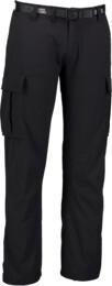 Pantaloni de timp liber negri pentru bărbați WEIRD - NBSPM5010