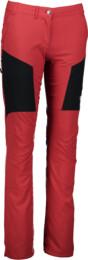 Červené dámské ultra lehké outdoorové kalhoty COGENT - NBSPL5029