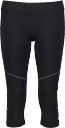 Černé dámské 3/4 legíny na jogging BEAT - NBSPL5047