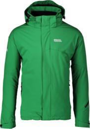 Men's green ski jacket VANGUARD