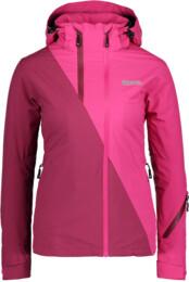 Vínová dámská lyžařská bunda ASPIRE