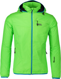 Men's green sports jacket ISOMER - NBWJM5313