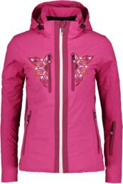 Geacă de schi roz pentru femei POMPOSITY