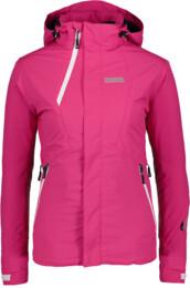 Růžová dámská lyžařská bunda CHAOS