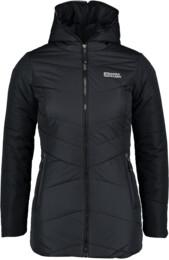 Černý dámský zimní kabát STORMBOUND - NBWJL5329