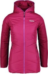 Fialový dámský zimní kabát STORMBOUND