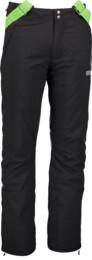 Černé pánské lyžařské kalhoty SLASH