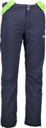 Modré pánské lyžařské kalhoty SLASH