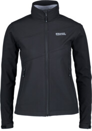 Women's black softshell jacket with fleece jacket CERIUM - NBWSL5346