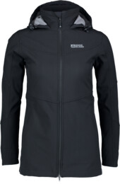 Women's black softshell parka with fleece STELLAR - NBWSL5347