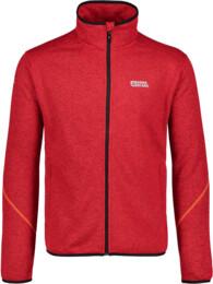 Men's red sweater fleece APEX