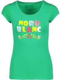 Zelené dámské elastické tričko GAILY - NBFLT5377