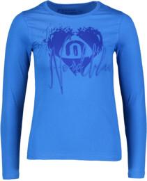 Kék női pamut póló SOUL