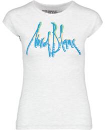 Šedé dámské bavlněné triko WELL - NBFLT5386