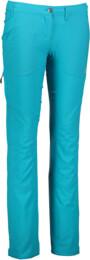 Modré dámske ultra ľahké outdoorové nohavice SCIENCE - NBSPL5543