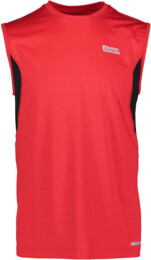 Men's red functional jogging top KEEN